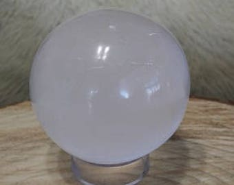 Selenite Sphere / Crystal Ball - Medium  - 3""