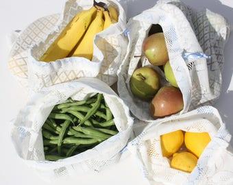 Reusable Produce Bags, Produce Bags, Veggie Bag, Eco Friendly Kitchen, Eco Mom, Market Bag, Fruit and Veggies, Mesh Produce Bag, Lace Bag