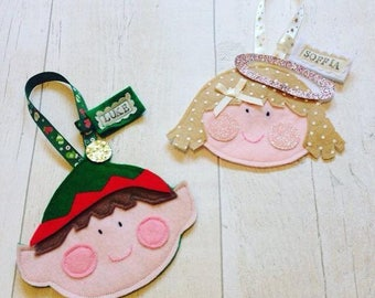 Personalised Tree Decoration, Christmas Gift, Christmas Decoration, First Christmas