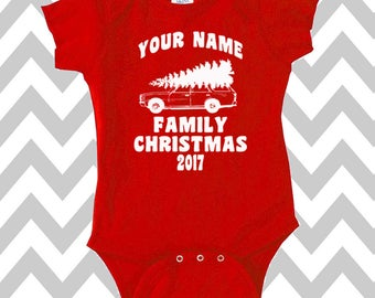 Custom Griswold Family Christmas Onesie Funny Christmas Onesie Christmas Bodysuit Christmas Baby Onesie Christmas Vacation Onesie Baby Tee