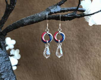 Patriotic USA Earrings