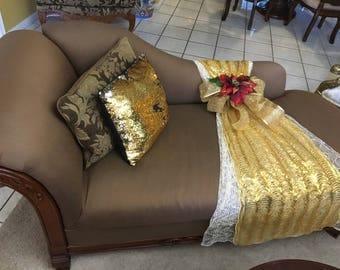 Chaise Sofa Throw Decoration
