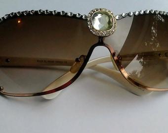 Gold and Diamonds Sunglasses
