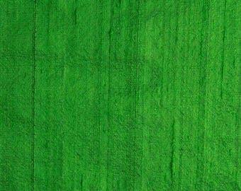 10% Off On Green Dupioni Silk Fabric