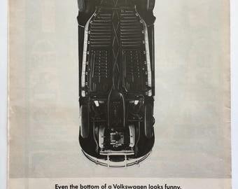 VW Beetle Bottom - 1965 LOOK magazine