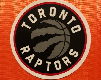 Toronto Raptors Laptop Sticker | Raptors Basketball Sticker | Toronto Raptors NBA Patch | Patches | NBA Sticker | NBA Accesories