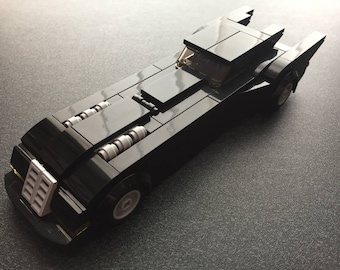 Custom Lego Batmobile from 1992 Animated Batman Series (Instructions and part list only)