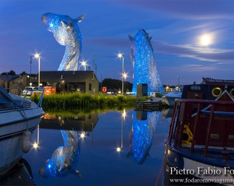 Kelpies and full Moon