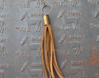 Bullet Casing Tassel Necklace