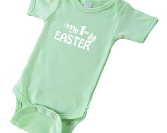 Short Sleeve Bodysuit - My 1st Easter