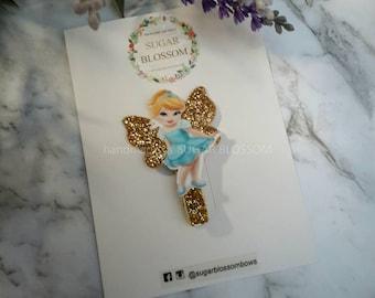 1pc Disney princess hair clip - hair accessories - baby hair clips - girls hair clips - handmade by sugrblossom - disney character