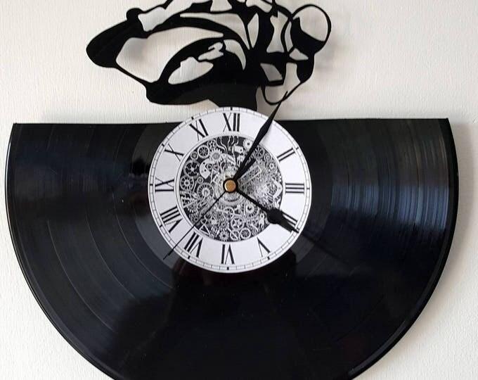 Vinyl 33 clock towers motorcycle theme