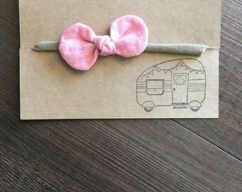 baby bow headband • Organic