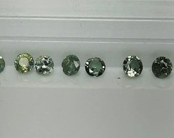 Natural Alexandrite 3mm to 4mm
