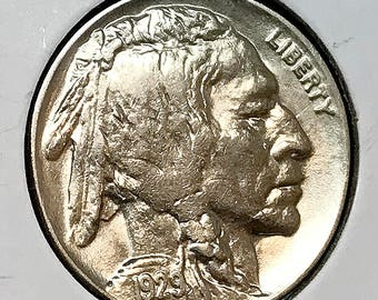 1929 P Buffalo Nickel - Choice BU / MS / UNC