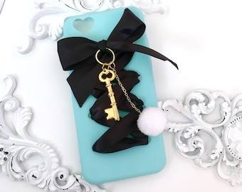 Alice Laced Ribbon iPhone Case