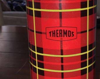 PRE-SUMMERSALE Vintage 1964 Thermos quart bottle No. 2442
