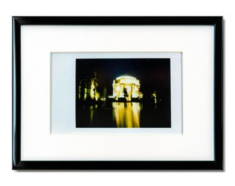 "Fine Art Photography ""Palace of Fine Arts"" Framed Instax Mini Print"