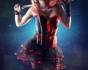 Harley Quinn cosplay print