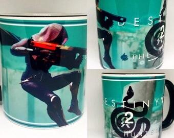 Custom Made Destiny 2 v2 The Hunter Coffee Mug 15oz and 11oz Personalized