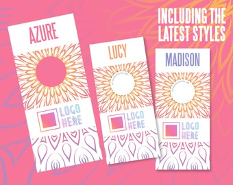 Style Rack Dividers, Mandala design, Home Office Approved Colors and Fonts, Printable PDF Files, Instant Download