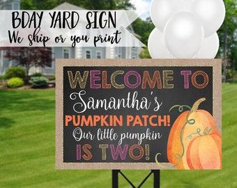 Pumpkin Patch Sign, Pumpkin Welcome Sign, Pumpkin Birthday Sign, Pumpkin Birthday Yard Sign, Pumpkin Sign, Pumpkin Party, Pumpkin Patch Sign