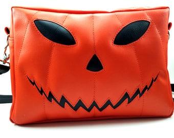 Pumpkin Head | Jack o' Lantern Halloween Purse