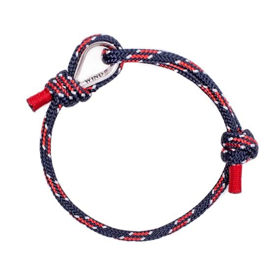 ROPE BRACELET - navy blue bracelet, women bracelet, bracelets for teenagers, arm bracelet nautical jewelry nautical bracelet sailing jewelry
