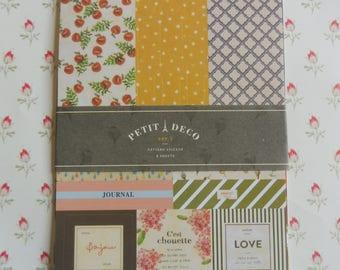 """Stickers 8 sheets set """"Petit Deco"""" version 5"""
