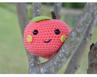 Georgia Amigurumi Peach