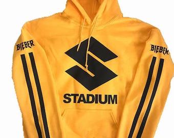 Justin Bieber Stadium Tour Purpose Tour Merch Hoodie Sweatshirt