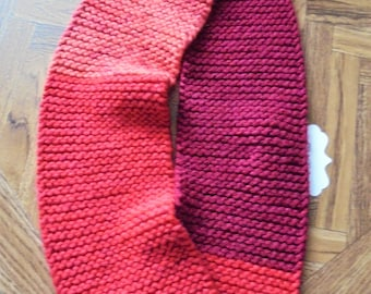 Toddler infinity scarf, childs scarf, infinity scarf, scarf for toddler, toddler scarf, hand knit scarf, hand knit item