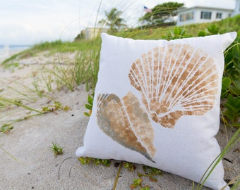 Seashells - pillow cover