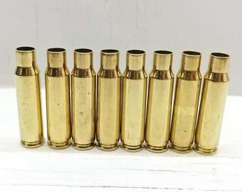 6.8mm SPC Brass Casings-6.8 SPC Brass-6.8mm Remington Special Brass-6.8 Rem Spc Special Reloading Brass Cases- 25 Clean Brass Bullet Casings