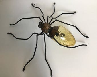 Extremely rare Wall lamp spider 60s mid century modern