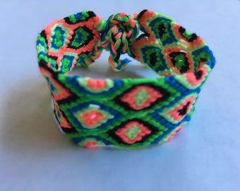 Lite Brite Diamond Eye Bracelet