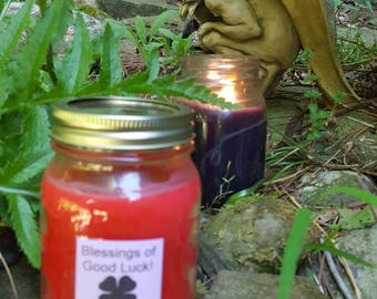 Good luck spell Candle