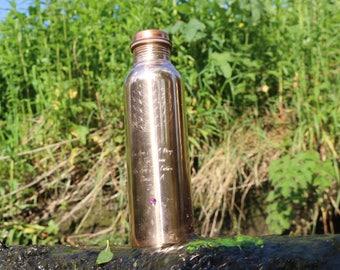 Copper Bottle 800ml #Rumi  Aryuveda meets Art