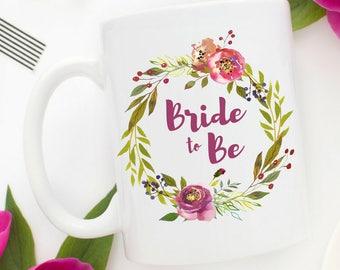 Bride to Be Mug   Engagement Party Gift   Newly Engaged Mug   Bride To Be Gift   Wedding Planning Mug   Wedding Planning Mug