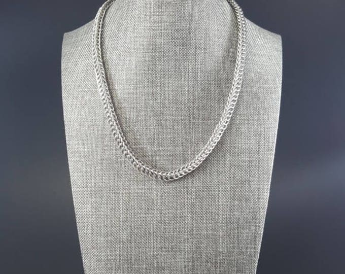 Stainless Steel Unisex Chainmail Necklace Handmade