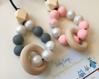 Teething Necklace* Silicone Necklace*Nursing Necklace
