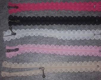 """Fancy zipper """"lace"""""""