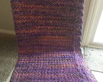 Lavender Multicolored Blanket