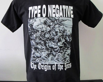 T-shirt TYPE O NEGATIVE  [s-m-l-xl-xxl-xxxl] Danzig Carnivore Moonspell Woods of Ypres Paradise Lost Life of Agony Tiamat