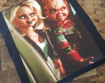 Free Shipping; Chucky; Tiffany; Bride of Chucky; Jennifer Tilly; Brad Dourif