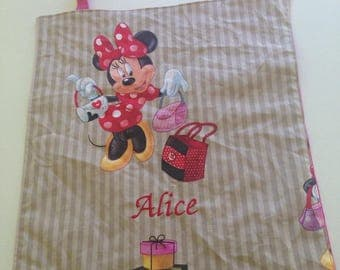 Personalized canteen or minnie table napkin