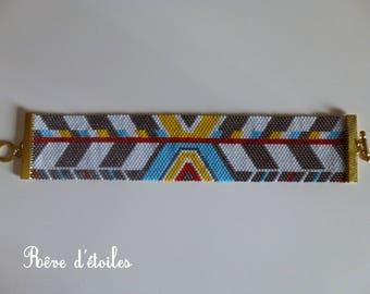 Bracelet weaving beads Miyuki