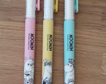 Moomin erasable , refillable gel pen