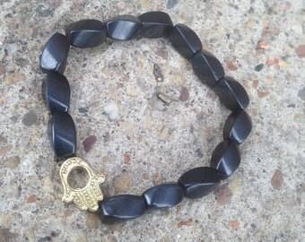 Hematite Crystal Healing Necklace