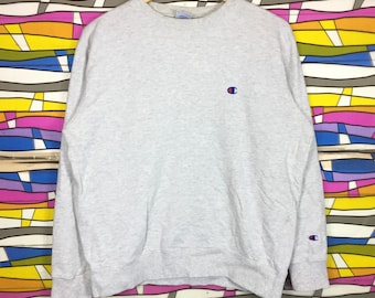 Rare!! Vintage Champion Sweatshirt Small Logo